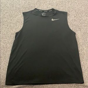 Nike Running Dri-Fit cutoff shirt